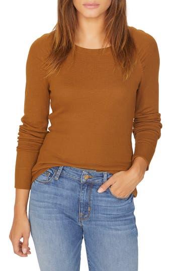 Kenzie Thermal Pullover, Caramel