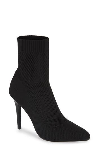 Charles By Charles David Puzzle Sock Bootie, Black