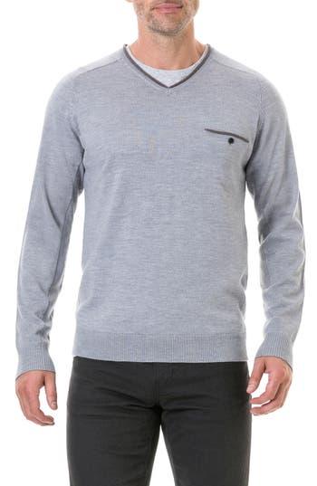 Rodd & Gunn Goose Bay Wool Sweater, Grey