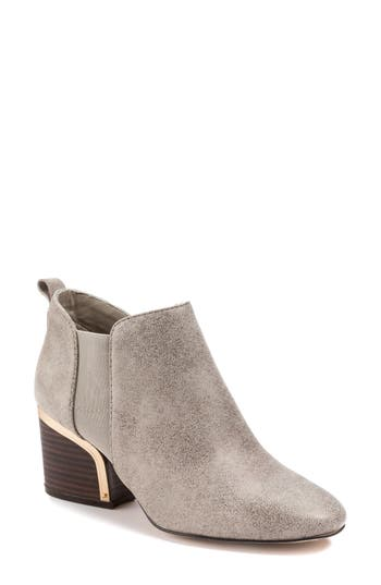 Pascal Bootie, Taupe Leather