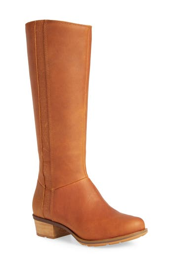 Chaco Cataluna Knee High Waterproof Boot, Brown