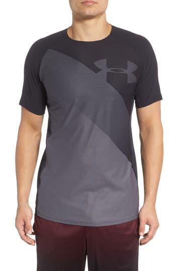 Under Armour Threadborne Vanish Fitted Shirt, Black