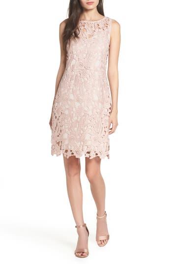 Sam Edelman Lace Sheath Dress, Pink