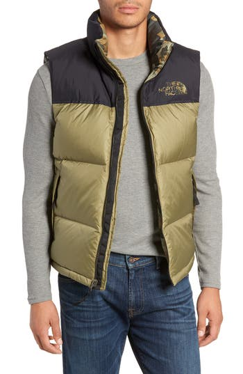 The North Face Nuptse 1996 Packable Quilted Down Vest, Green
