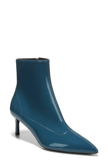 Via Spiga Baronne Pointy Toe Bootie- Blue