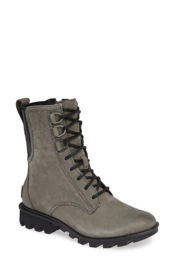 Sorel Phoenix Lace-Up Boot, Grey
