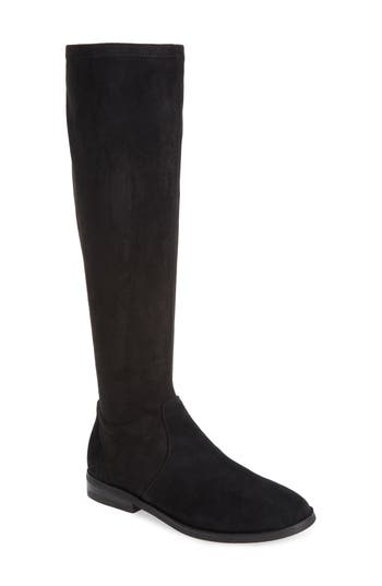 Gentle Souls By Kenneth Cole Emma Stretch Knee High Boot- Black