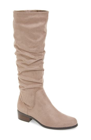 Charles By Charles David Guru Slouchy Knee High Boot, Grey