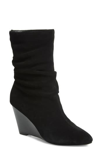 Charles By Charles David Edell Slouchy Wedge Boot, Black