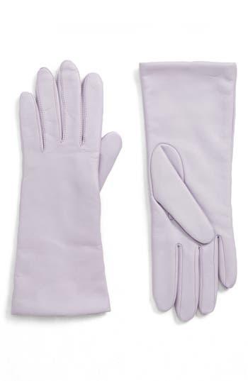 Victorian Hand Fan, Gloves, Belt Accessories Womens Halogen X Atlantic-Pacific Cashmere Lined Leather Gloves Size Large - Purple $99.00 AT vintagedancer.com