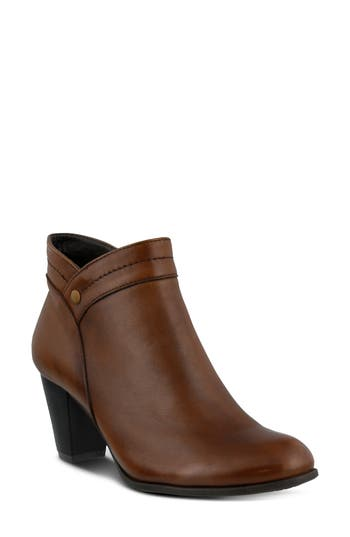 Spring Step Italia Bootie - Brown