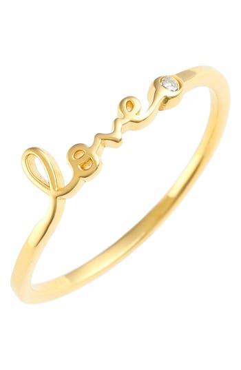 Women's Shy By Se 'Love' Ring