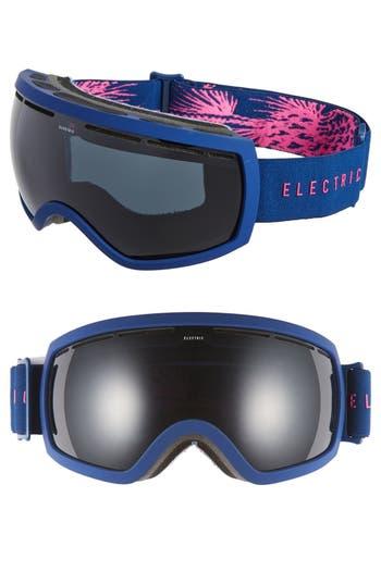 Women's Electric Eg 2.5 215Mm Snow Goggles - Pinecones Navy/ Jet Black