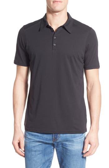 Men's Nau 'Echo' Stripe Jersey Organic Cotton Polo
