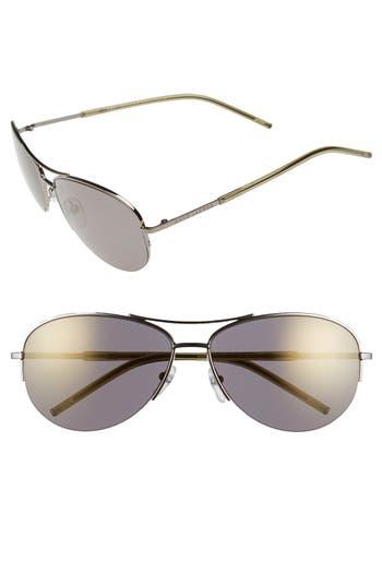 Women's Marc Jacobs 59Mm Semi Rimless Sunglasses - Dark Ruthenium