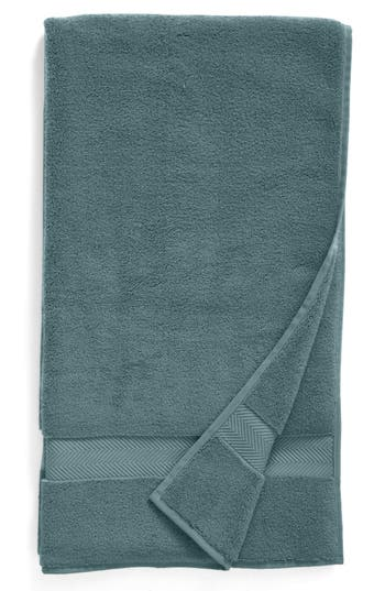 Nordstrom At Home Hydrocotton Bath Towel, Size One Size - Blue/green