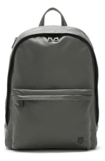 Men's Vince Camuto 'Tolve' Leather Backpack - Grey