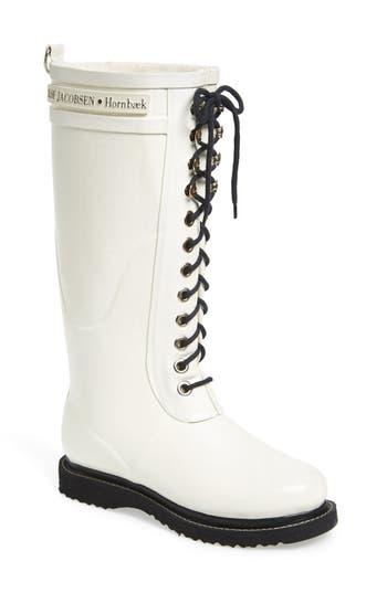 Ilse Jacobsen Hornbaek Rubber Boot, White