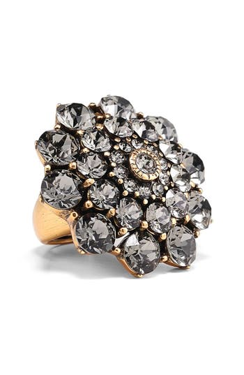 Women's Oscar De La Renta Swarovski Crystal Ring