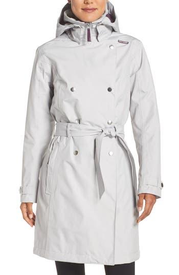 Women's Helly Hansen 'Welsey' Insulated Waterproof Trench Coat