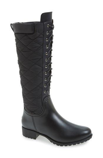 Dav Tofino Quilted Tall Waterproof Rain Boot