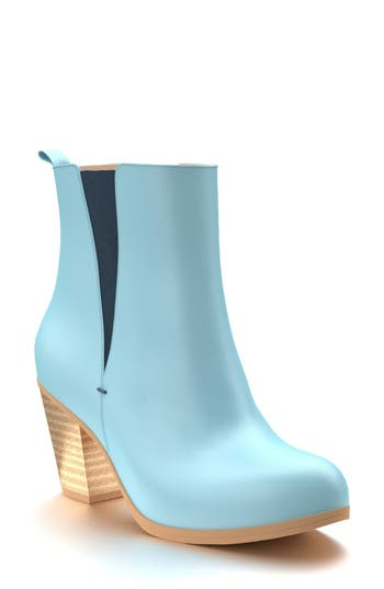 Shoes Of Prey Block Heel Chelsea Boot
