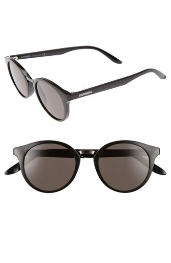 Carrera Eyewear 4m Round Sunglasses - Shiny Black