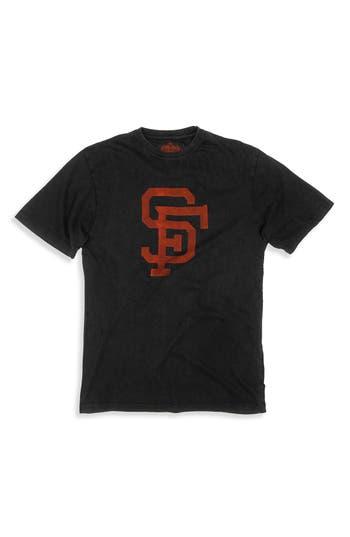 Men's Red Jacket 'San Francisco Giants' Vintage Screen T-Shirt