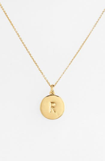 Women's Kate Spade New York 'One In A Million' Initial Pendant Necklace