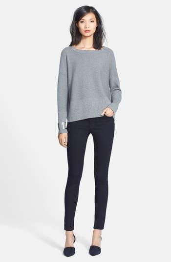 Women's Lafayette 148 New York 'Primo Denim' Curvy Fit Slim Leg Jeans