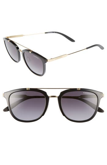 Carrera Eyewear 51Mm Retro Sunglasses - Shy Black Gold