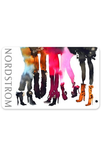 Nordstrom I Heart Shoes Gift Card $25