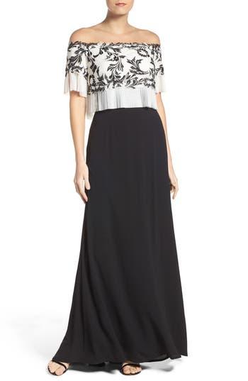 Women's Tadashi Shoji Off The Shoulder Jersey Dress