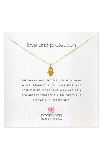 Women's Dogeared Love & Protection Pendant Necklace