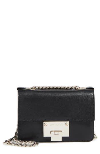 Jimmy Choo Mini Rebel Leather Crossbody Bag -