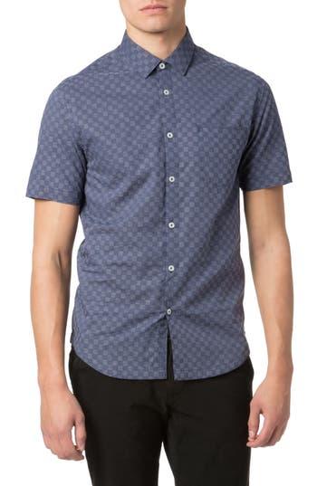 Men's Good Man Brand Trim Fit Graph Print Sport Shirt