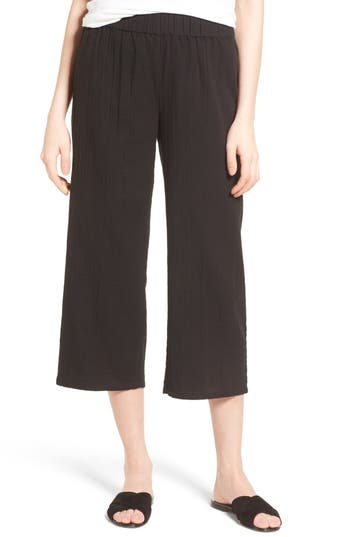 Women's Eileen Fisher Organic Cotton Crop Pants