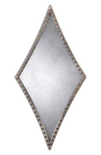 Uttermost Gelston Set Of 2 Diamond Wall Mirrors, Size One Size - Metallic