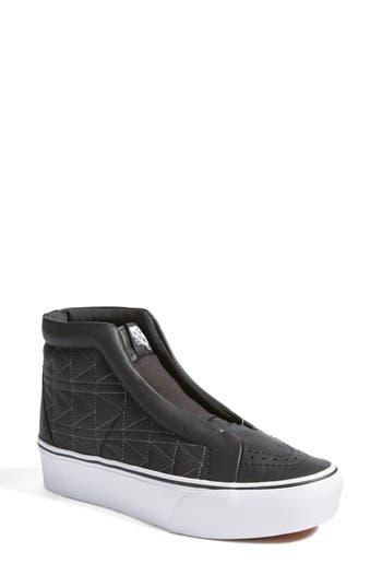 281764f4a6fbab Vans X Karl Lagerfeld Sk8-Hi Leather Sneaker In Karl Lagerfeld Chain  K  Quilt