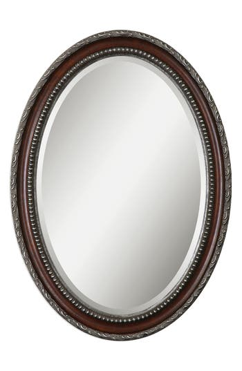 Uttermost Montrose Oval Wall Mirror, Size One Size - Brown