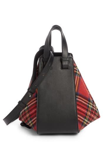 Loewe Small Hammock Tartan Shoulder Bag -