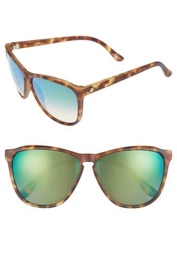 Women's Electric 'Encelia' 61Mm Retro Sunglasses - Pineapple Tortoise/ Green