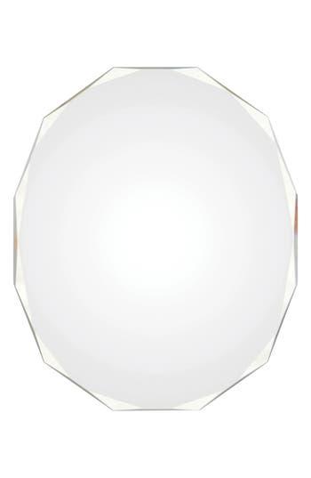 Renwil Astor Round Mirror, Size One Size - White