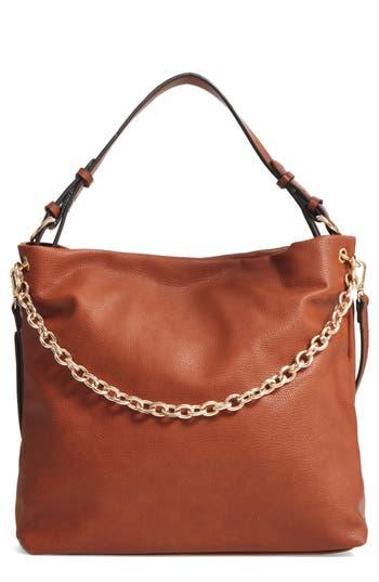 Chelsea28 Taylor Faux Leather Shoulder Bag - Brown