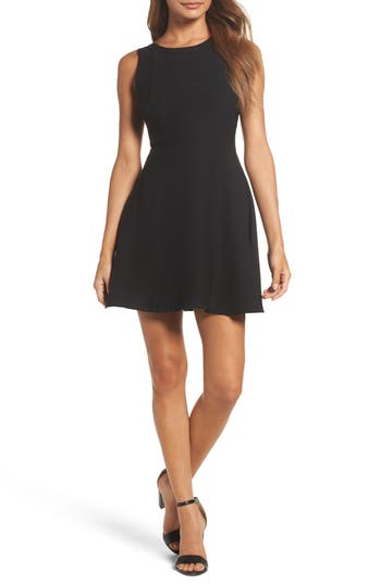 Women's 19 Cooper Crepe Fit & Flare Dress