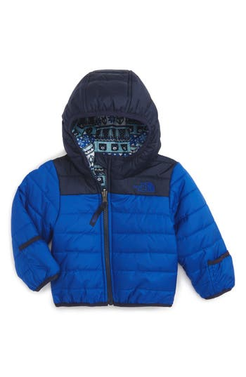 Infant Boy's The North Face 'Perrito' Reversible Water Repellent Hooded Jacket