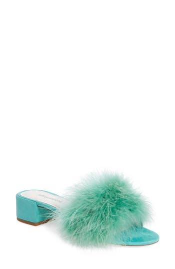 Women's Jeffrey Campbell 'Beaton' Slide Sandal, Size 5 M - Green