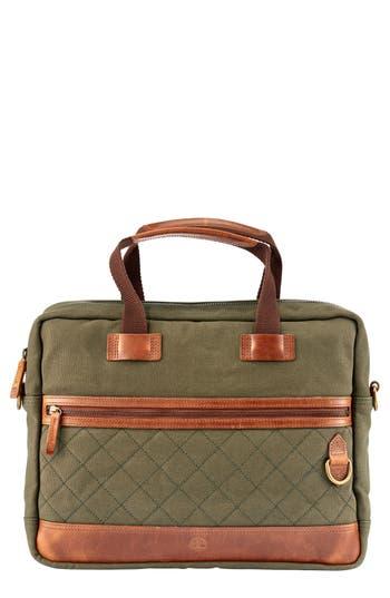 Men's Timberland Nantasket Briefcase - Green