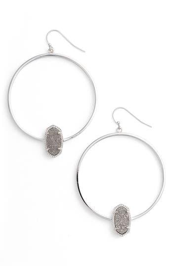 Women's Kendra Scott Elora Frontal Hoop Earrings