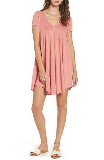 Women's Soprano T-Back Swing Dress, Size X-Small - Coral